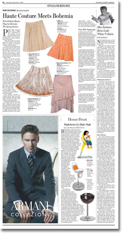 wsj style page